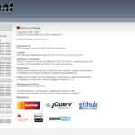NEMS 1.0 NConf (Configure Nagios) Screen