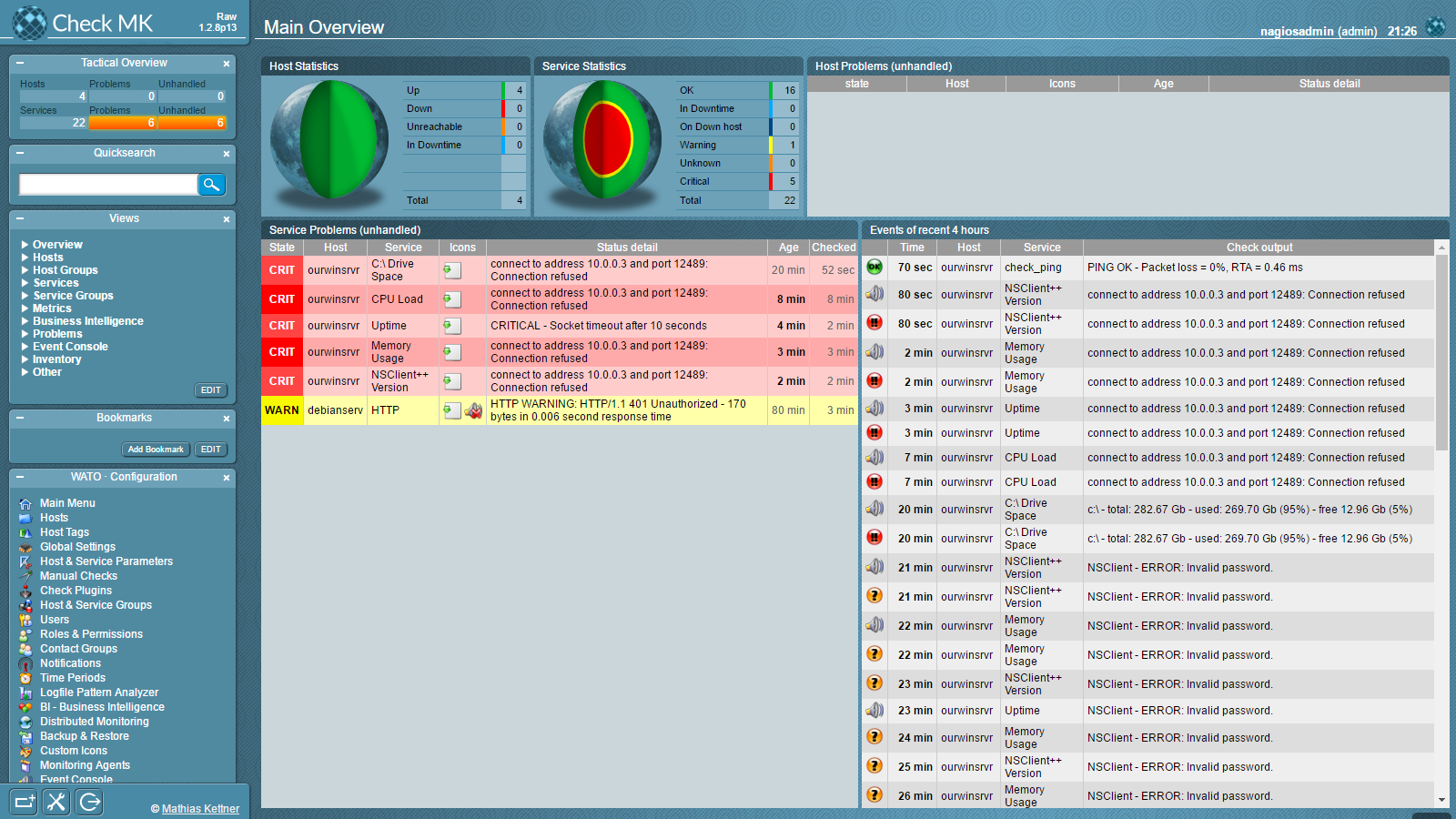 NEMS Linux – Nagios Enterprise Monitoring Server for Raspberry Pi 3