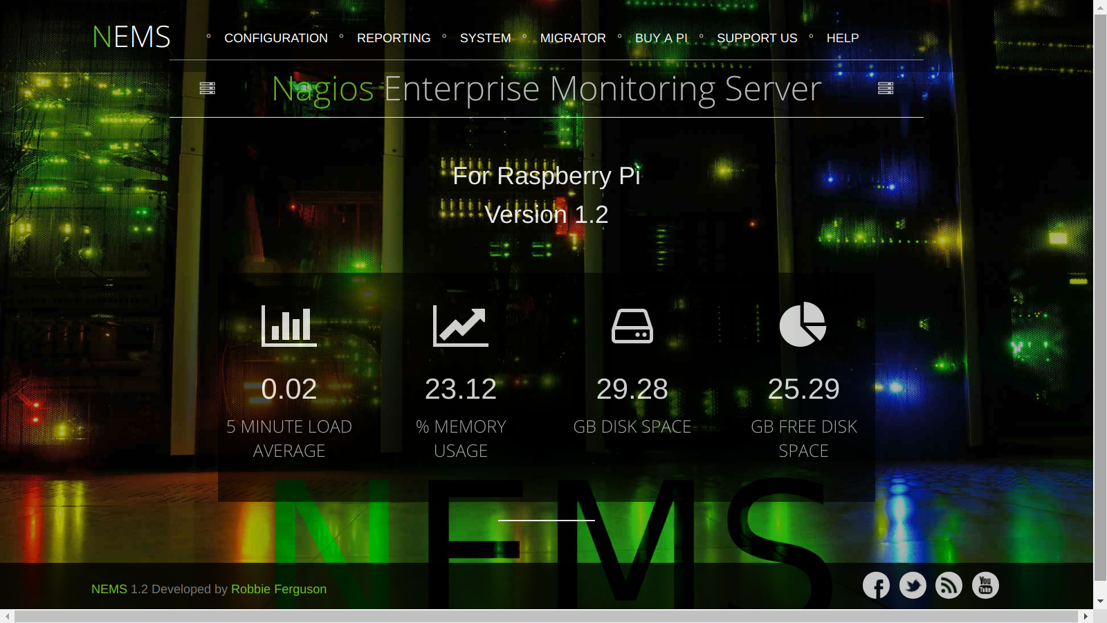 NEMS Linux – Nagios Enterprise Monitoring Server for Raspberry Pi 3