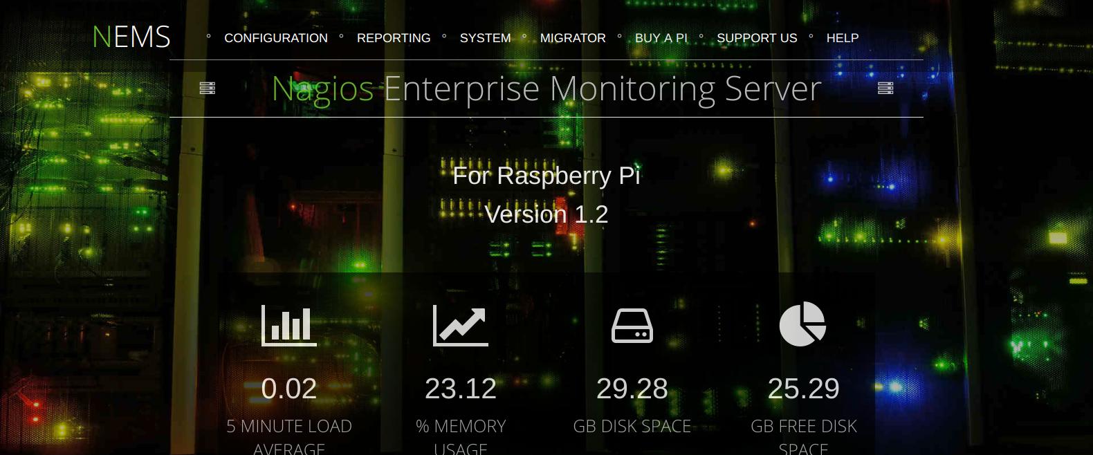 NEMS Linux – Nagios Enterprise Monitoring Server for