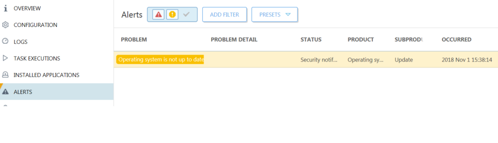 Fix: ESET Security Management Center Virtual Appliance Operating